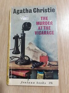 The Murder At The Vicarage Agatha Christie 1963