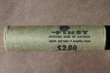 1969 D Jefferson Nickel Original Bank Wrap Roll Rare National Bank Obw 5 Cents