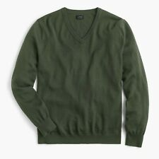 UNOPENED NWT J. CREW MEN'S $79 SLIM MERINO WOOL V-NECK SWEATER / LARGE L