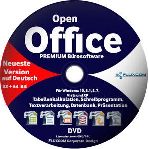 Open Office PREMIUM 2020 für Windows 10, 8, 7 Schreibprogramm,Textverarbeitung