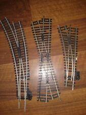 Hornby  R.640 . R 612 & Crossover. Good Condition.