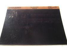 2001 Honda Motorcycle GL1500CD Valkyrie Microfiche Parts Catalog GL 1500 CD