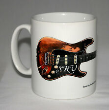 Guitar Mug. Stevie Ray Vaughan's Fender Stratocaster #1 illustration.