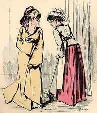 KLASSEN UNTERSCHIEDE - Alfred GRÉVIN - colorierte Original-Lithographie um 1873
