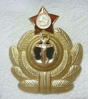 RUSSIAN SOVIET Officer Cockade Navy badge pin