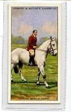 (Jj699-100) Lamber & Butler,Horsemanship,Reining Back A Horse,1938 #21