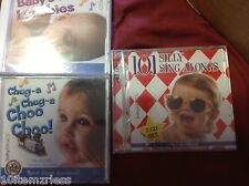 3 Baby Basics Baby's First Lullabies Sweet Dreams Silly Songs  Double 2 CD Set