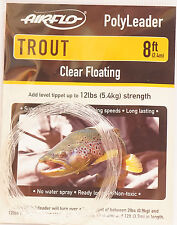 Airflo polyleader trout 5ft/1,50 MTR. Clear Floating