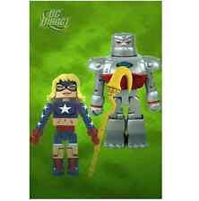 Dc Universe Minimates Series 6 S.t.r.i.p.e. and Stargirl Diamond Select JC