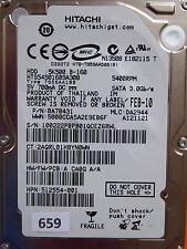 160GB Hitachi HTS545016B9A300 | P/N: 0A70431 | MLC: DA2944 | FEB-10 #659