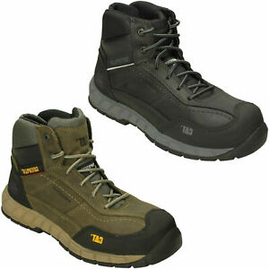 CATERPILLAR MENS COMPOSITE TOE SAFETY LACE UP ANKLE BOOTS STREAMLINE MD L CT