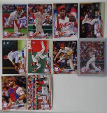cc54ab37a53 2018 Topps Series 1 Philadelphia Phillies Team Set of 10 Baseball Cards  Hoskins