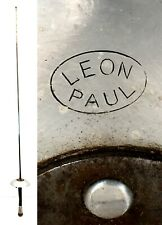 """Vintage Leon Paul French Grip Fencing Foil 42"""" #5 non-electric sword epee"""