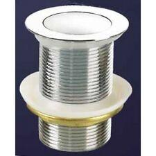 40 mm Pop Up Waste  - No Over Flow -  Solid Brass / Chrome