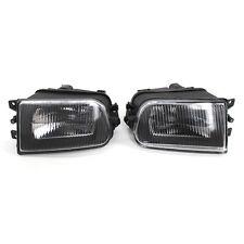Fits BMW E39 528i 540i 97-00 Z3 97-01 Clear Lens Driving Fog Light Bumper Lamps