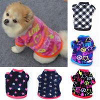 Hund Kleidung Welpe Haustier Katze Winter Pullover Mantel Sweatshirt Hundepulli