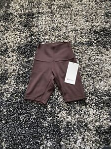 """NWT Lululemon Align Short 8"""" In French Press! Size 0!"""