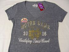 NOTRE DAME FIGHTING IRISH - FIESTA BOWL - TOUCH - LADIES LARGE SIZE T SHIRT!