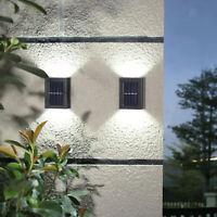 Lampada da parete a LED ad energia solare da esterno impermeabile con sensore da