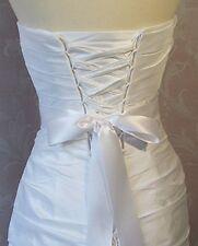 Vintage Crystal Rhinestone Wedding Dress Belt Satin Ribbon Bridal Dress Sash