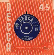 """Bob Azzam(7"""" Vinyl)Mustapha/ Tintarella Di Luna-Decca-F 21235-UK-1960-VG/VG"""