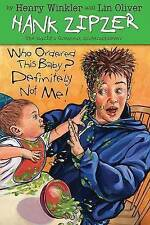 Who Ordered This Baby? Definitely Not Me! #13 (Hank Zipzer)-ExLibrary