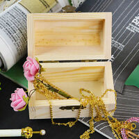 Storage Box Wooden Jewelry Cute Pearl Necklace Bracelet Organizer Case Hollow