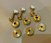 Trumpet Gold-Plate Trim Kit (12 Pcs) fits most Bach, B&S and Yamaha models
