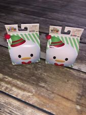 Disney Tsum Tsum Mystery Pack 2017 Holiday Blind Pack LOT of 2 NEW Sealed