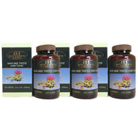 Body & Health Maxi Milk Thistle Liver Tonic 35000mg 100 capsules x 3 Units
