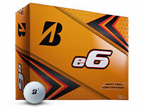 Bridgestone e6 Golf Balls - 1 Dozen White -  Mens
