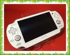 FW 3.70 Sony PS VITA Wi-Fi White PCH-1000 ZA02 excellent Handheld Game Console