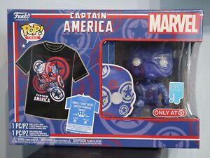 Funko POP! Collector's Box Captain America Marvel Patriotic Age POP & Tee Target