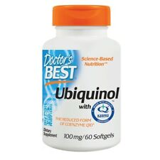Doctor's Best Ubiquinol with Kaneka 100mg 60 Softgels