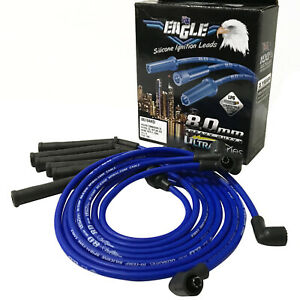 EAGLE 8mm 6cyl Ignition Lead Kit Fits Holden Commodore Colorado Trax VF RG