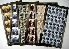 RARE! MNH 2003 NEW ZEALAND LORD OF THE RINGS RETURN OF THE KING STAMPS SHEET SET