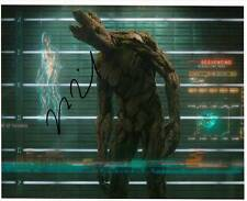 Marvel Guardians Galaxy I AM GROOT  signed Vin diesel autograph 8 x 10 Colour 20