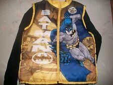 DC Comics Batman Infant & Toddler Boy's Insulated Vest, T-Shirt & Jeans Size 5T