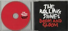 THE ROLLING STONES Doom And Gloom 2012 UK 1-track promo CD D&G1