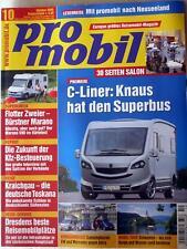 PRO MOBIL 10-05+ADRIA 3 WAY+VW CALIFORNIA+BÜRSTNER MARANO+MERCEDES MARCO POLO