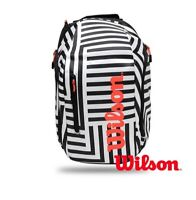 Wilson WR800160 Super Tour Racquet Bags Tennis Backpack Bold Edition_amga