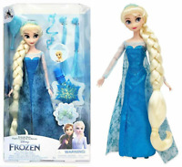 New 2021 Disney Store Elsa Hair Play Doll, Frozen Gift