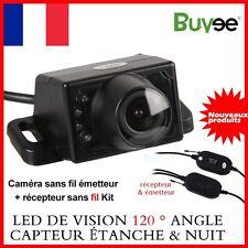 LED sensor voiture Caméra de recul Caméra sans fil émetteur +récepteur sans fil