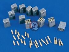 Verlinden 1/35 5cm KwK 38 L/42 Gun Ammo & Cases (1658 & Panzer III series) 1657