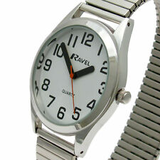 Ravel Stainless Steel Band Adult Wristwatches