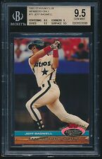1991 Stadium Club Members Only rookie #11 Jeff Bagwell rc BGS 9.5
