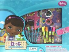 Doc McStuffins Stationery Set Sketchpad Crayons Markers Stickers Pencil Eraser