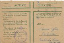 Servicio activo GB cubierta de honor 14/9/1943 149 1124 para Rochdale censor FPO.