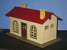 1930 LionelTown, small station #127. Lighted All metal. Some paint defects C-6 b