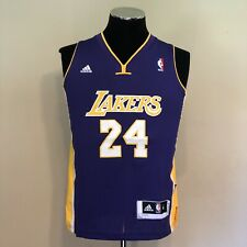 Kobe Bryant Los Angeles Lakers Adidas Youth Swingman Jersey Size Medium Purple